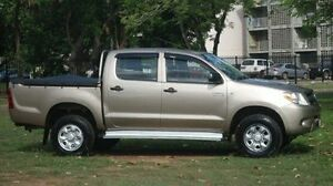 2008 Toyota Hilux KUN26R MY08 SR Grey 4 Speed Automatic Utility Winnellie Darwin City Preview