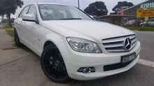 2008 Mercedes-Benz C200 Kompressor W204 Avantgarde White 5 Speed Sports Automatic Sedan Doveton Casey Area Preview