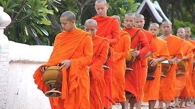 Thai Buddhist Sabong Robe Lower Bottom Supply Meditation Clothe Monk Costume New - Monk Clothes