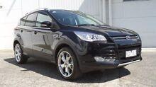 2014 Ford Kuga TF Titanium PwrShift AWD Black 6 Speed Sports Automatic Dual Clutch Wagon Bundoora Banyule Area Preview