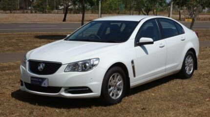 2013 Holden Commodore VF MY14 Evoke Heron White 6 Speed Auto Seq Sportshift Sedan Winnellie Darwin City Preview