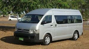 2009 Toyota Hiace KDH223R MY08 Commuter High Roof Super LWB Silver 4 Speed Automatic Bus Winnellie Darwin City Preview