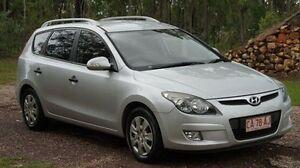 2012 Hyundai i30 FD MY11 SX cw Wagon Silver 4 Speed Automatic Wagon Winnellie Darwin City Preview