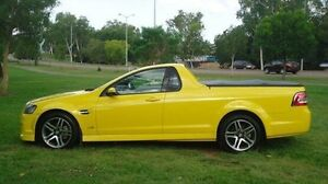 2010 Holden Ute VE MY10 SV6 Yellow 6 Speed Manual Utility Winnellie Darwin City Preview
