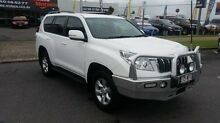 2013 Toyota Landcruiser Prado KDJ150R GXL White 5 Speed Sports Automatic Wagon Bungalow Cairns City Preview