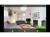 Large 1 bedroom flat 5 minutes from hove station! Available end of October