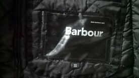barbour padded jacket size s to m