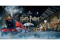 SATURDAY 4th August Harry Potter (Warner Brothers) Studio Tour Tickets