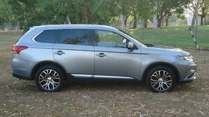 2015 Mitsubishi Outlander ZK MY16 LS 4WD Silver 6 Speed Constant Variable Wagon Winnellie Darwin City Preview