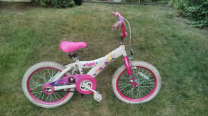 Bratz 18in bike for 5-7yr old girl, good working condition, pink