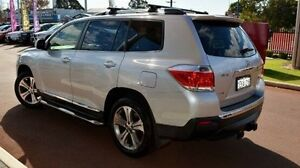 2013 Toyota Kluger GSU45R MY12 KX-S AWD Silver 5 Speed Sports Automatic Wagon Gosnells Gosnells Area Preview