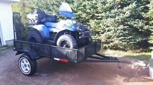 5x8 utility trailer for sale.
