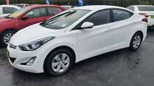 2014 Hyundai Elantra MD Series 2 (MD3) Active White 6 Speed Automatic Sedan Taylors Beach Port Stephens Area Preview
