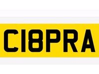 PRIVATE NUMBER PLATE REGISTRATION ON RETENTION WITH FEES PAID AND READY TO GO ON CUPRA COBRA CYPRUS