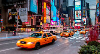 BILLETS BUS + HOTEL POUR 2 PERSONNES NEW-YORK = 400$
