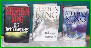 Lot of 3 Stephen King Hardcover Books