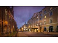 Receptionist – Hilton Cambridge