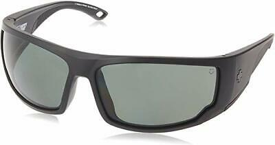 Spy Optic Tackle Sunglasses Matte Black-Out Frame ANSI HAPPY LENS Grey Green (Spy Optics Happy Lens)