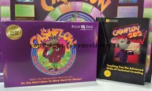 New Factory Sealed Cashflow 101 202 Board Game Rich Poor Dad Robert Kiyosaki