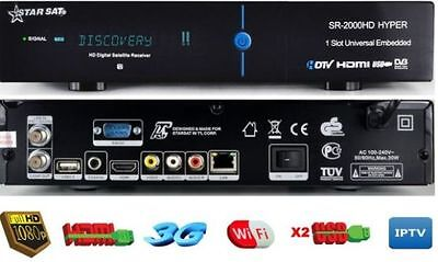 STARSAT 2000HD Hyper WLAN IPTV