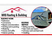 flat roofs , exterior painting , slaters , roofers