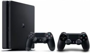 Playstation 4 Slim (2 controllers + games + Playstation TV)