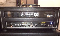Line 6 Spider 100 HD Tube Amp Head