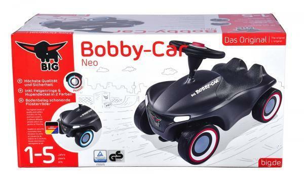BIG Outdoor Spielzeug Fahrzeug Bobby Car Neo anthrazit 800056243