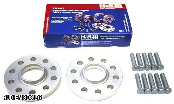 H&R 20mm Hubcentric Wheel Spacers Honda Civic 4x100 EP1 EP2 EP4 01-06