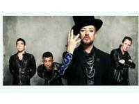 4 tickets to see Culture Club in concert at the sse arena in wembley on 14th December at 7pm