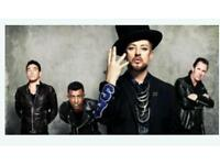 4 tickets to see Culture Club in concert at the SSE arena on the 14th december