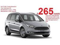 PCO UBER READY 2016 Auto Ford Galaxy / 7 Seater| Taxi/ Cab/ MPV / PCO / Hire/ Rent