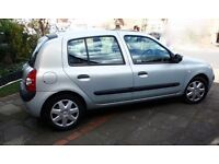 2004 RENAULT CLIO EXPRESSION AUTOMATIC 1.4 16V 5 DOOR HATCHBACK, PETROL Mileage:32,000 Price£1250