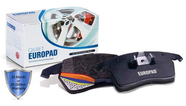 Mini Cooper R59 1.6 MPFI 2 D Roadster 2012 - 2013 Europad Front Disc Brake Pads