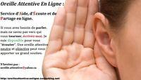 Oreille Attentive En Ligne: Aide, Écoute et Partage en Ligne.