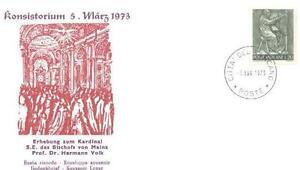 Vatican 1973 Religion Cardinal Hermann Volk (s35) - <span itemprop='availableAtOrFrom'> Dabrowa, Polska</span> - Vatican 1973 Religion Cardinal Hermann Volk (s35) -  Dabrowa, Polska