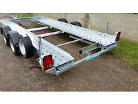 "Car Transporter Trailer - 14' X 6'6"" - Woodford STT 070"