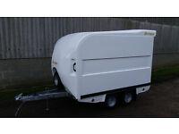 Bateson 120V White Box Trailer 7' x 4' x 4