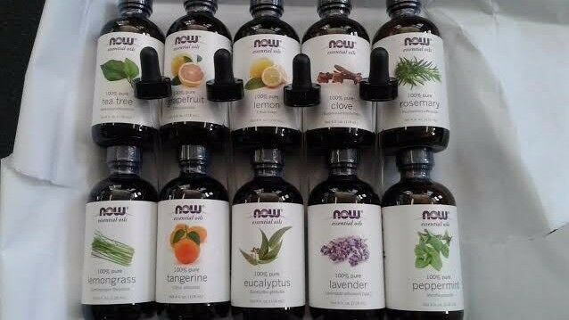 NOW Foods Essential All Scents Peppermint Clove Orange Oil w