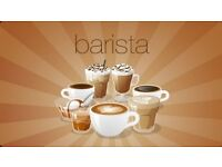 We are looking full time barista and staff to work in our kitchen