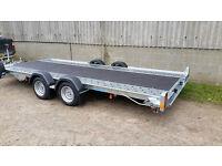 "Car Transporter Trailer - Woodford WBT131 16' x 6'6"""