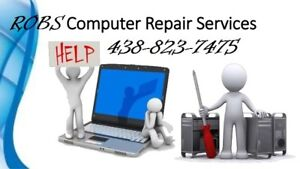 in most cases same day service,,,,, Robs computer repair