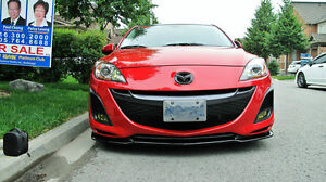 2010-2012 Mazda 3 non speed M'z Front Lip West Island Greater Montréal image 1