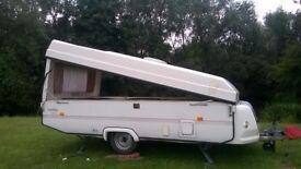 Rapido Orline folding caravan 1996