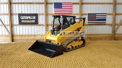 2013 Caterpillar 259b3 Track Skid Steer Loader Cat 259