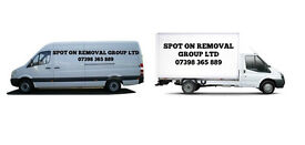 Spot On removal services in Bridgend and surrounding areas.