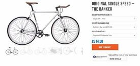 NEW - Mango Bike - Original Single Speed - THE BANKER - 40% Discount