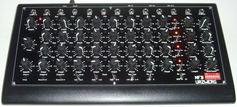 MFB Urzwerg synthesizer sequencer (open box)