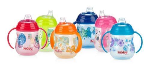 Clik-it Designer Series GripN'Sip 2-pack - 9oz/270ml - No Spill - BPA Free