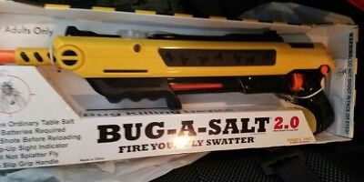 New    Bug A Salt 2 0 Gun Fly Swatter Insect Home Garden Pest Control Mosquito